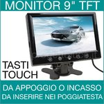 MONITOR 9 POLLICI LCD TOUCH