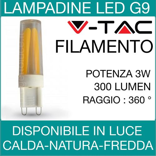 Lampadine a led v tac for Lampadine a filamento led