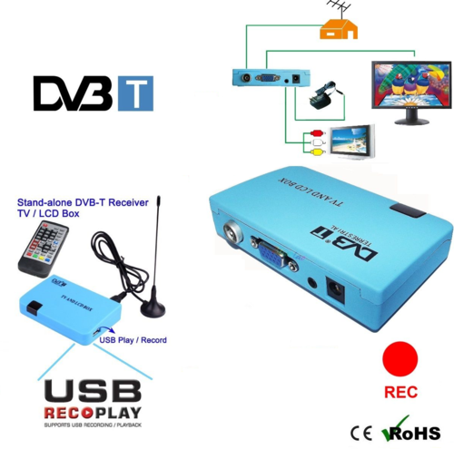 DDL Decoder mini DVB-T digitale terrestre