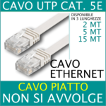 CAVO DI RETE ETHERNET UTP CAT5