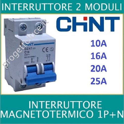 INTERRUTTORE MAGNETOTERMICO CHINT