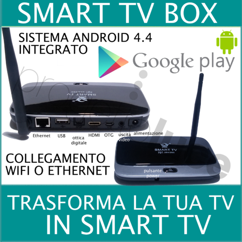Smart box tv wifi android