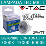 V-TAC LAMPADINA LED MR 11