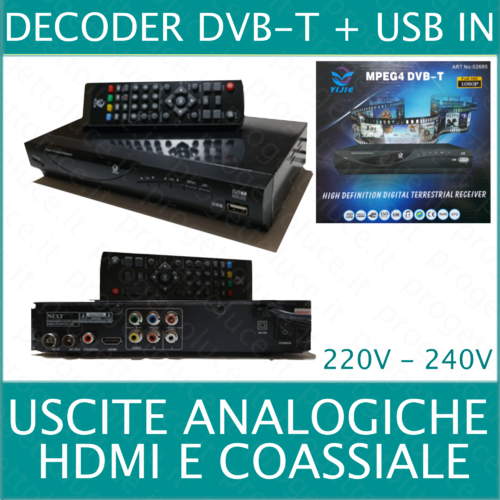 Decoder digitale dvb-t