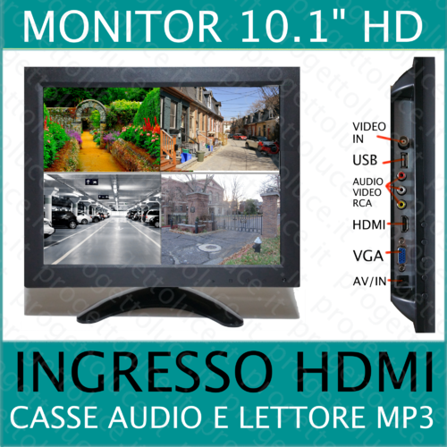 Monitor Lcd TFT 12 pollici