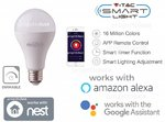 V-Tac Smart VT-5021 Lampadina LED Wi-Fi E27 18W A95 RGB+3in1