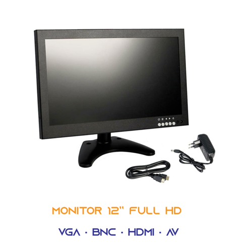 MONITOR FULL 1080P COLORI AV VGA HDMI BNC